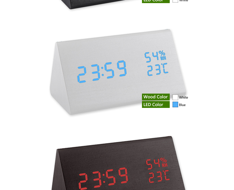 luminous alarm clock