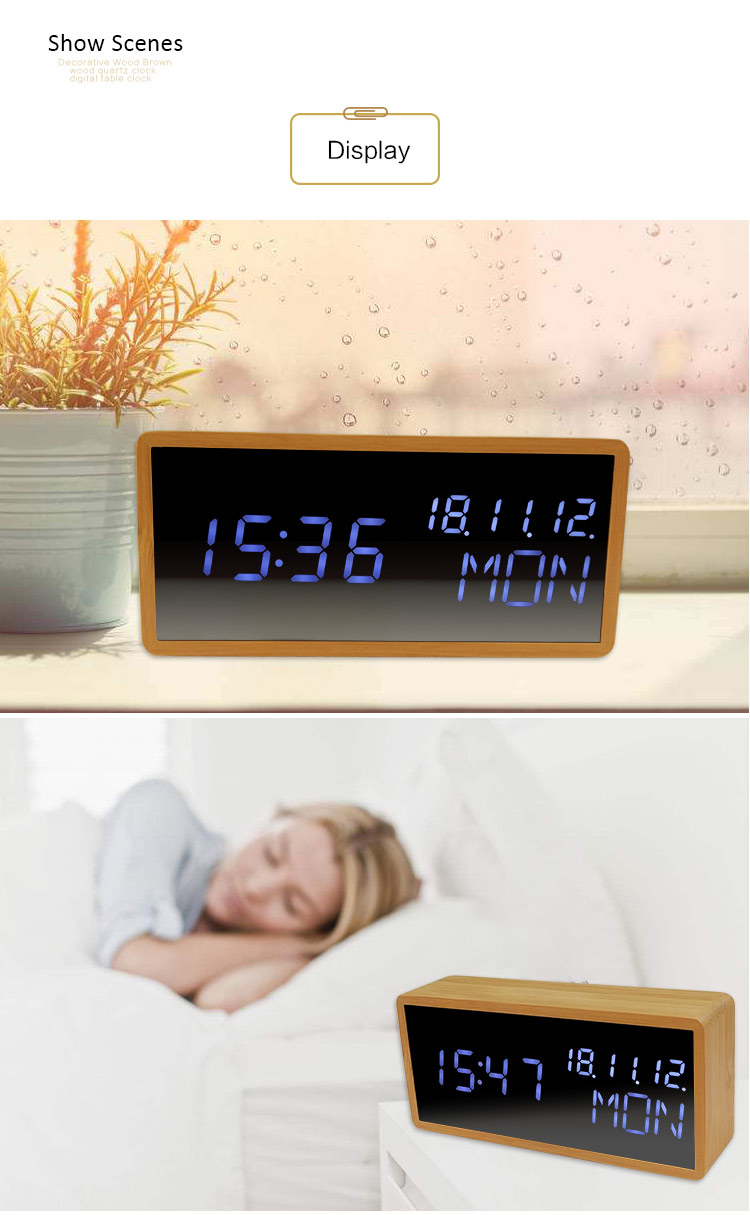 voice controlled alarm clock