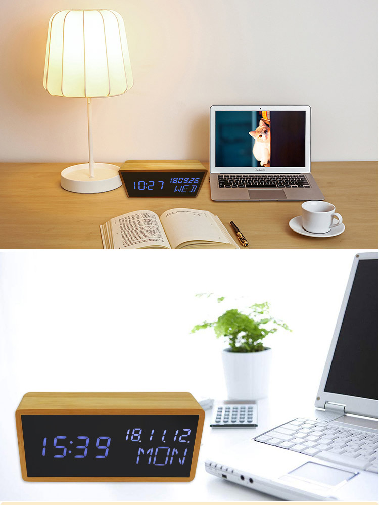 alarm clock luminous