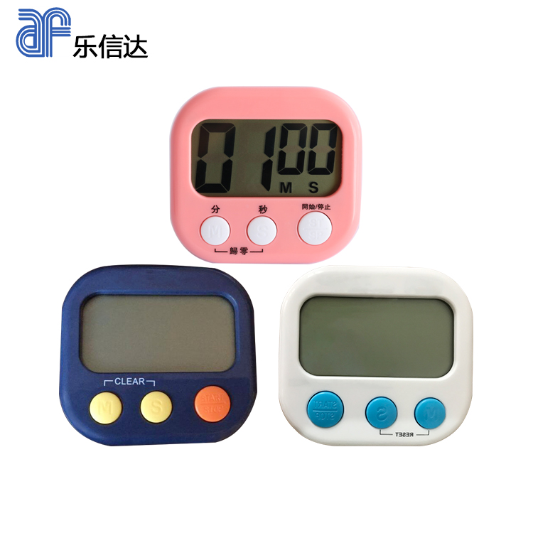 Digital kitchen cooking timer