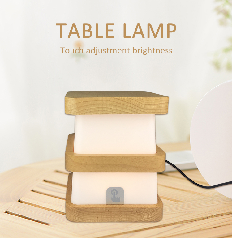 chargeable soft light lamp