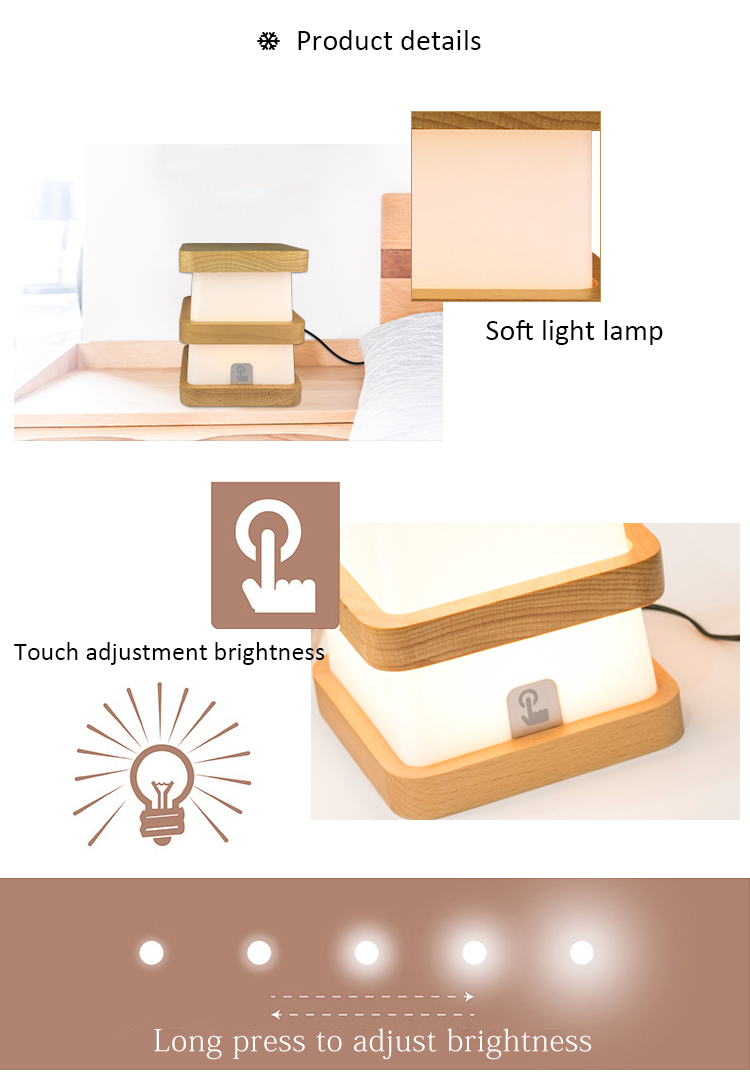 press control nightlight lamp