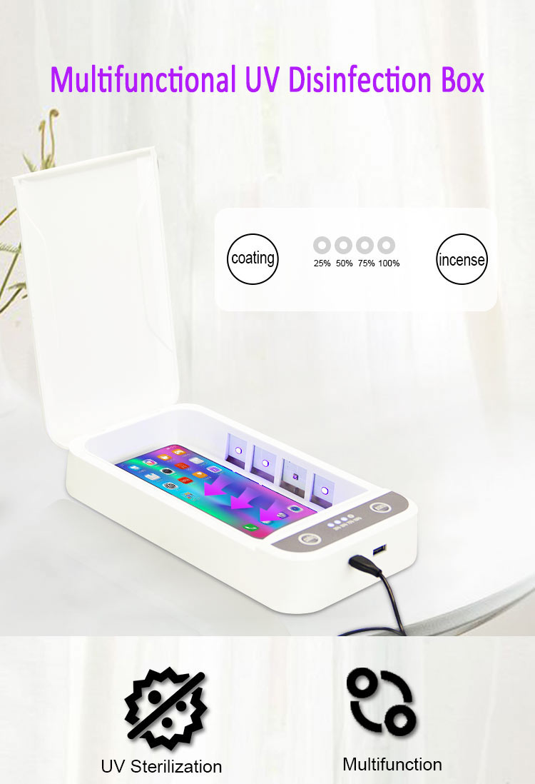 multifunction UV light sanitizer box