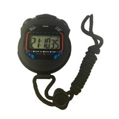 Handheld single line alarm digital sports stopwatch
