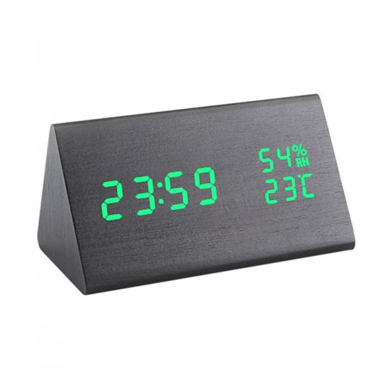 silent digital LED desktop clock