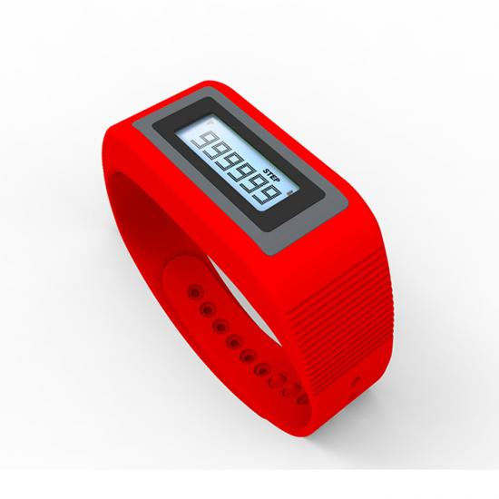Smart sport activity wristband 3D pedometer