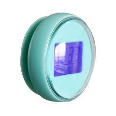 Newly Design Round waterproof plastic table clock with LCD Display