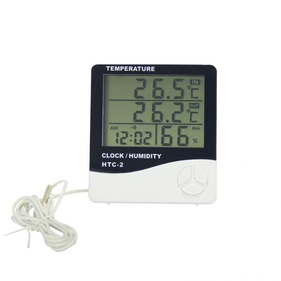 Weather Station LCD Alarm Clock